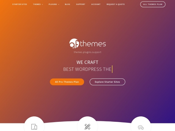 AF themes homepage
