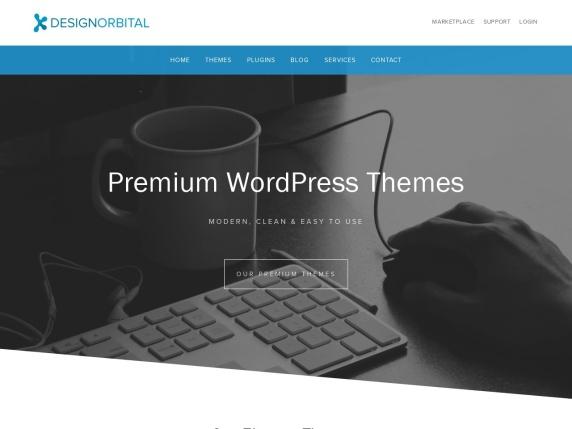 DesignOrbital homepage