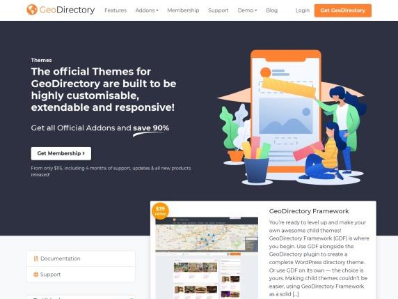 GeoDirectory homepage