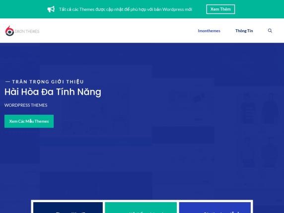 Imon Themes homepage