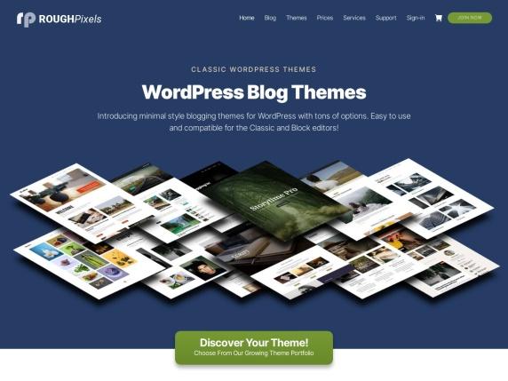 Rough Pixels homepage