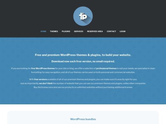 ThemeinProgress homepage
