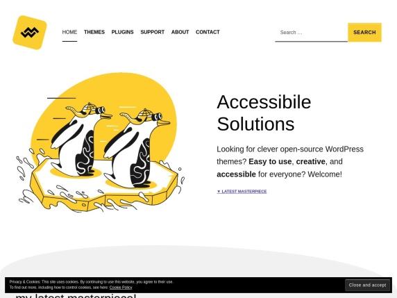 WebMan Design homepage