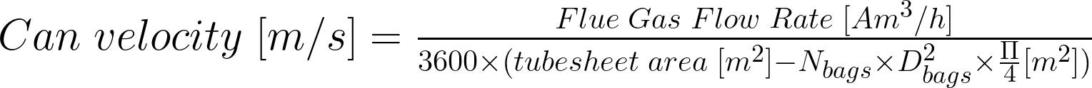 Can Velocity Calculator • FGKH