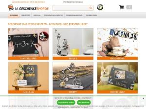 1a-geschenkeshop Webseite