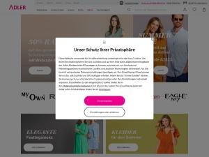 adler Webseite