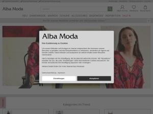 alba-moda Webseite