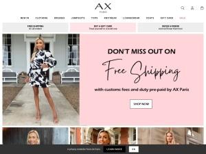 ax-paris Webseite