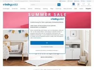 babywalz Webseite