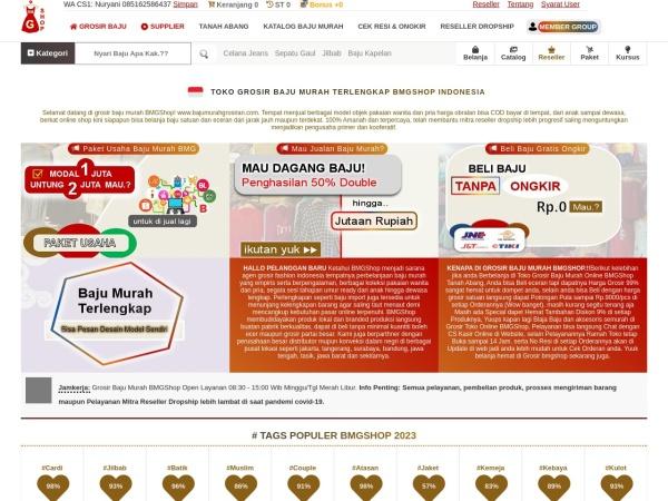 Bajumurahgrosiran Grosir Baju Murah Bmgshop Toko Baju Online