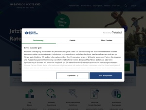 bank-of-scotland Webseite