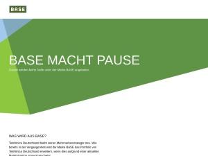 base Webseite