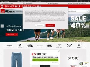 bergfreunde Webseite