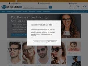 brillenplatz Webseite