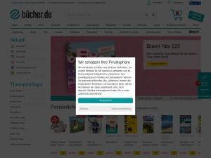 bücher-de Webseite