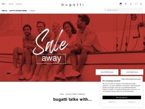 bugatti Webseite