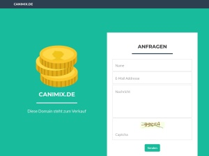 canimix Webseite