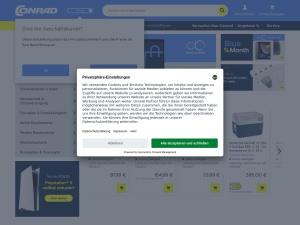 conrad Webseite