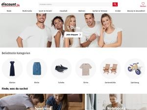 discount24 Webseite
