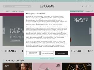douglas Webseite