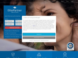 elitepartner Webseite