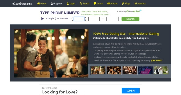 Free dating websites worldwide