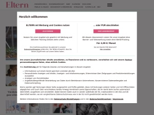 eltern-de Webseite
