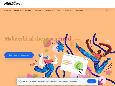 ethical.net Screenshot