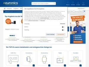 euronics Webseite