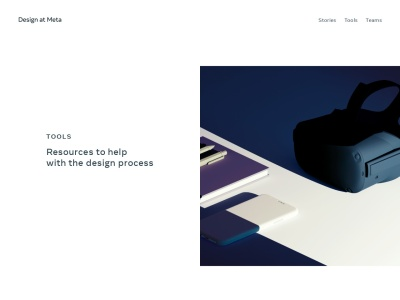 facebook.design/toolsandresources/ Screenshot