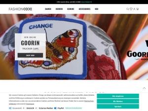 fashioncode Webseite