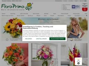 floraprima Webseite