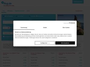 flug-de Webseite