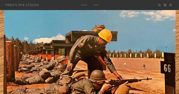 Fredsm14stocks Freds Military M14 Rifle Stocks