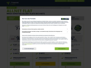freenet-mobile Webseite