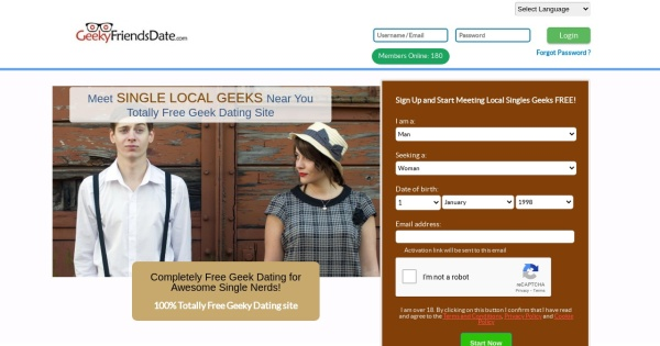 Geek dating online