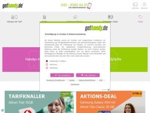 gethandy Webseite