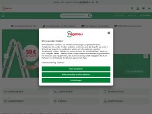 hagebau Webseite