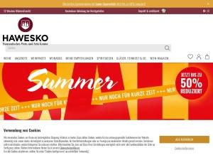 hawesko Webseite