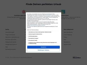 holidaycheck Webseite