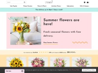10% Off Your First Purchase + Free UK Delivery at 123-flowers.co.uk