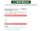 Screenshot of 30sman.com
