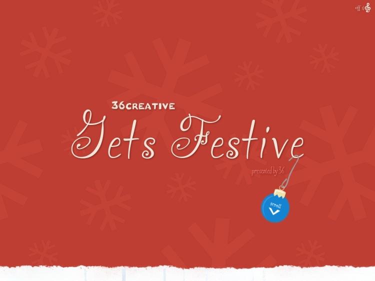 Happy Holidays from 36creative