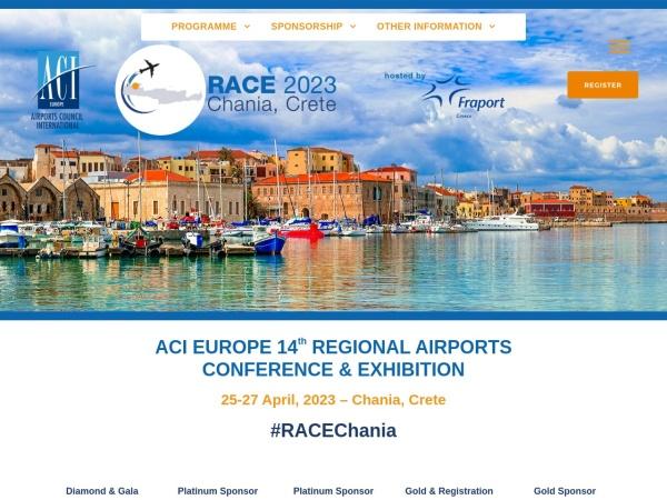Screenshot of aci-europe-rac.com
