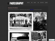Photography WordPress Theme example