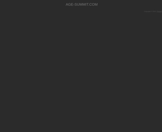 Screenshot of age-summit.com
