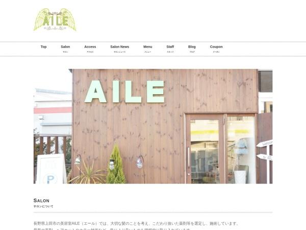 Screenshot of aile-ueda.com