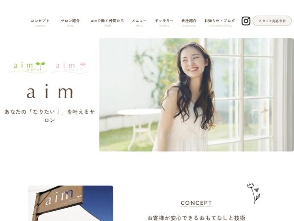 Screenshot of aim-fh.jp