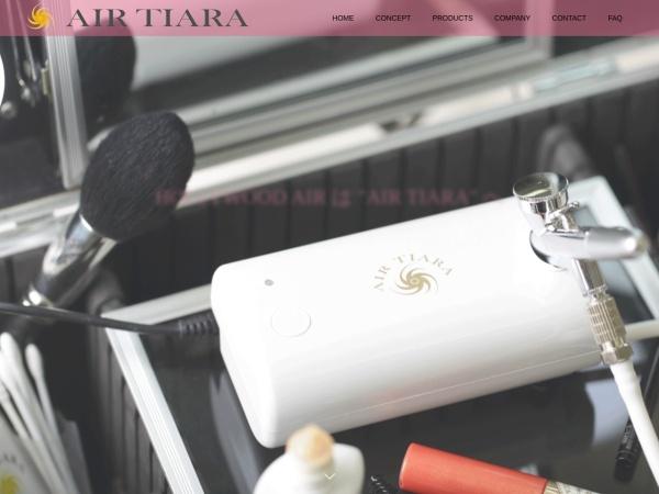 Screenshot of airtiara.co.jp