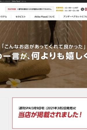 Screenshot of akibaplaza.tokyo